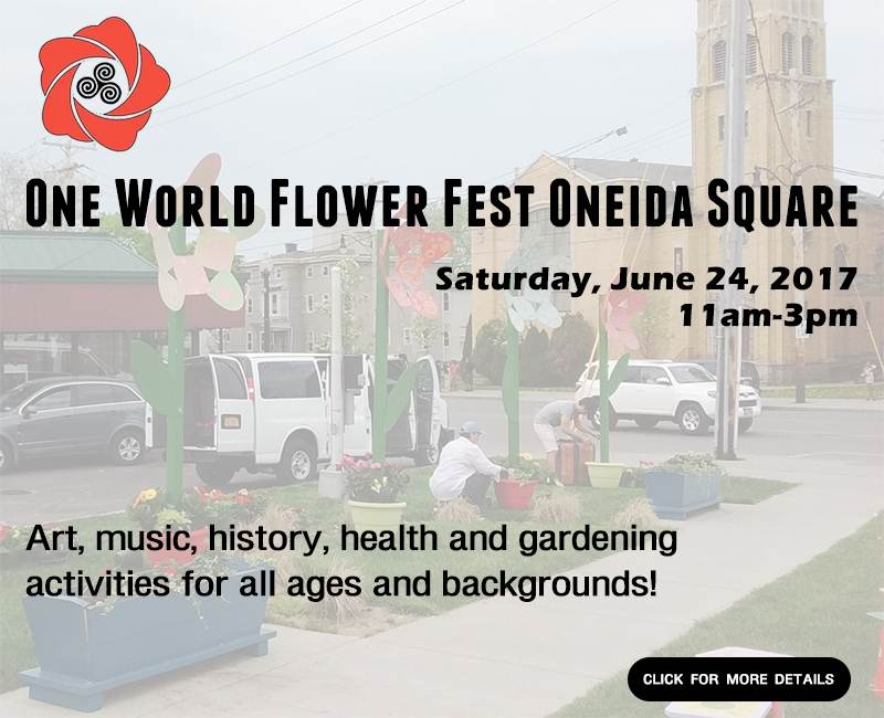 One World Flower Fest Oneida Square